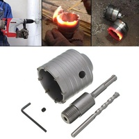 Electric Hammer Cement Stone Wall Hollow Bit Tapper Hole Opener Concrete Drills 65+200MM