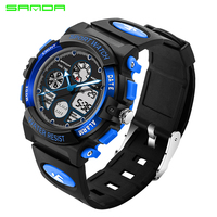 Children S Watches SANDA Brand Swim Waterproof Outdoor Sports Children Watch For Boy Girls Fashion Casual