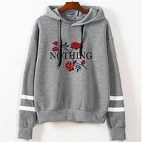 autumn rose hoodies women Sweatshirts hoodie