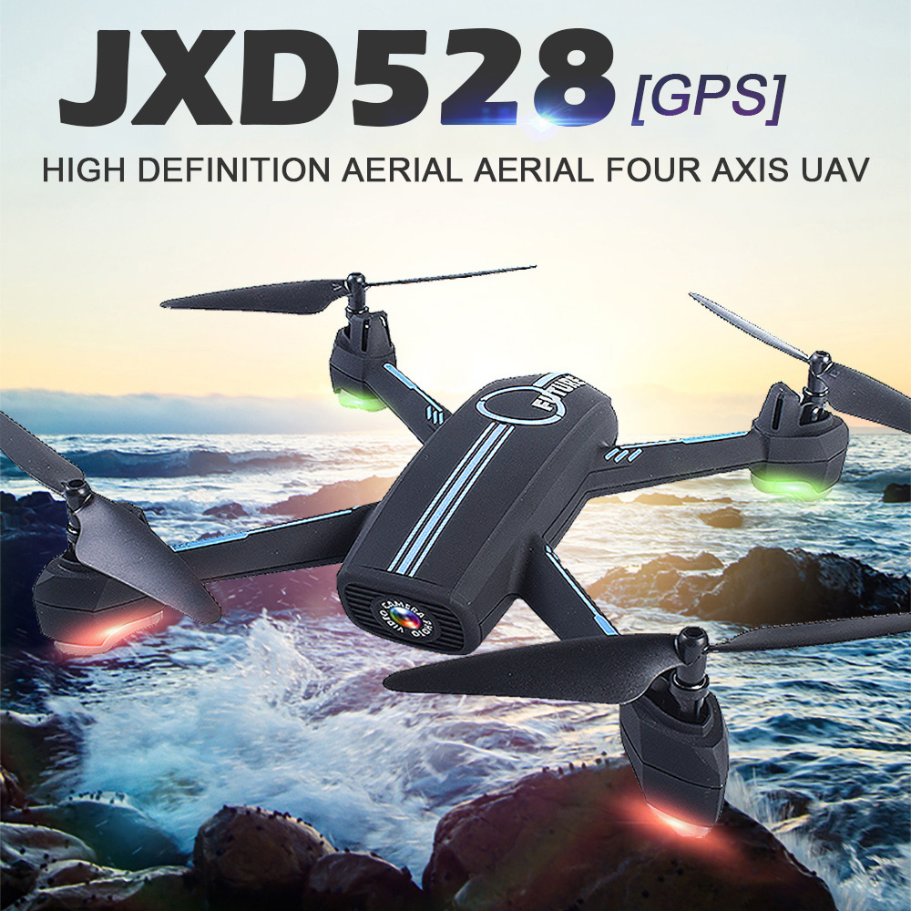 JXD528 GPS RC Drone WIFI FPV RC Quadcopter With 720P HD Camera Follow Me Mode Auto Return APP Control Helicopter Dron VS JJRC H8 follow me mode quadcopter helicopter rc drones wifi fpv 1mp camera drone dron waypoints gps brushed remote control helicopter