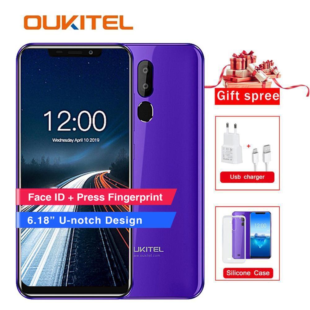 "Oukitel C12 Pro 4G 6.18 ""19:9 Android 8.1 Gezicht ID 2GB RAM 16GB ROM 3300mAh mobiele Telefoon MT6739 Quad Core Vingerafdruk Smartphone-in Mobiele Telefoons van Mobiele telefoons & telecommunicatie op AliExpress - 11.11_Dubbel 11Vrijgezellendag 1"