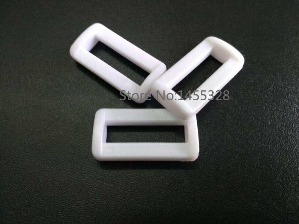 Arts,crafts & Sewing 100pcs Pom White Adjustable Buckles Plastic Slider Buckle Square Ring Backpack Webbing Straps Free Shipping 2017011001 To Make One Feel At Ease And Energetic