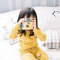 2018 Winter Children S Home Wear Comfortable Cotton Pajama Set Boys Girls Sleepwear Robe Cute Totoro