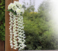 Wedding Home Decorative Silk Simulation Flowers Colorful Wall Hanging Orchids Art Artificial Craft Flower bouquet 6HD065