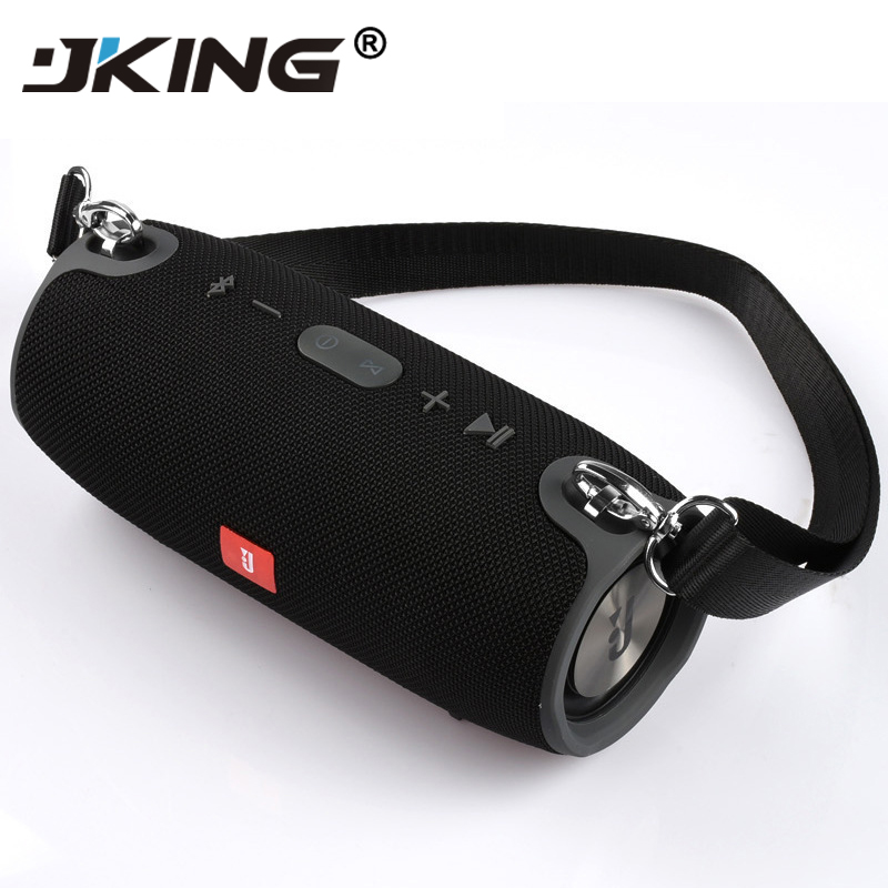 $29.99 JKING 2019 Portable TF Card USB FM Radio Line in Wireless Fabric BT Speakers Xtreme sound bar for outdoor indoor iphone xiaomi