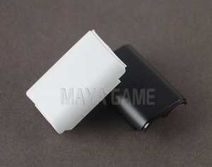 Image 3 - OCGAME 300pcs/lot Black White AA Battery Shell back Cover Holder Case Parts for xbox360 Xbox 360 Wireless Controller