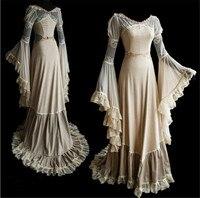 Women Vintage Dress Medieval Renaissance Costumes Sexy Woman Luxury Palace Dress Plus Size 5XL Adult Retro Party COS Dress