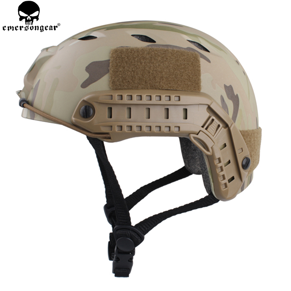 Fast Helmet Base Jump Type Durable Airsoft Helmet MultiCam Hunting Hiking Cycling EM8810