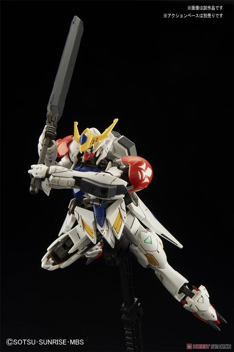 2019 New Gundam Barbatos Lupus Iron-Blooded Orphans Scale 1/144 Model ASW-G-08 Assembled Robot Kids Toy Anime Action Figure