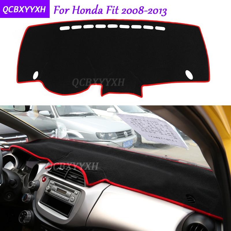 Pour Honda Fit 2008-2013 Tableau de Bord Tapis De Protection Intérieur Photophobism Pad Ombre Coussin Car Styling Auto Accessoires