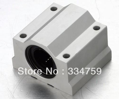 Free Shipping 4x SC10UU SCS10UU Linear motion ball bearings slide block bushing for 10mm linear shaft guide rail CNC parts