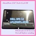 12''laptop lcd asamblea de pantalla para dell xps 12 lp125wf1-spa3 lp125wf1