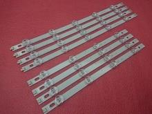 8 יח\סט LED תאורה אחורית רצועות עבור LG 39LN540V 39LN570V 39LN5700 39LN5757 39LA616V 39LA621V 39LA620S 39LN5400 39LN5300 39LN5100
