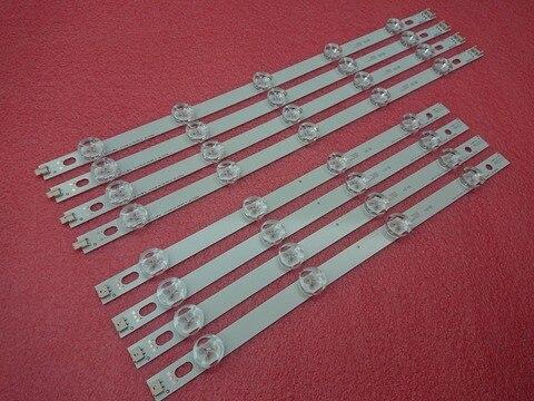 Tiras de Barras de Substituição para lg Nova Retroiluminação Led Innotek 39ln540v 39ln570v Hc390dun Pola2.0 39 um b Pola 2.0 Polegada 8 Pçs – Set
