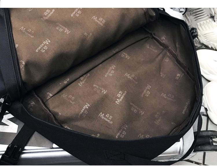 Menghuo 2PCS Mesh Pocket Backpack Purse Set New Girls Big Capacity School Bag Letters Travel Bag Men Rucksacks Mochilas Escolar_31