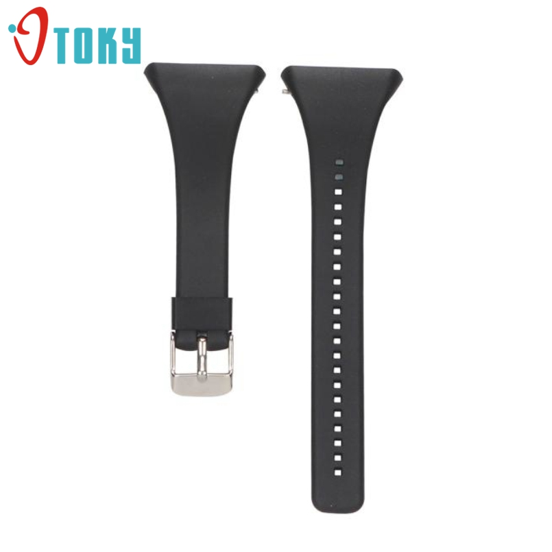 Excellent Quality Luxury Silicone Band Smart Watch Strap For POLAR FT4 FT7 FT Series Universal Strap Black White 7 Colors