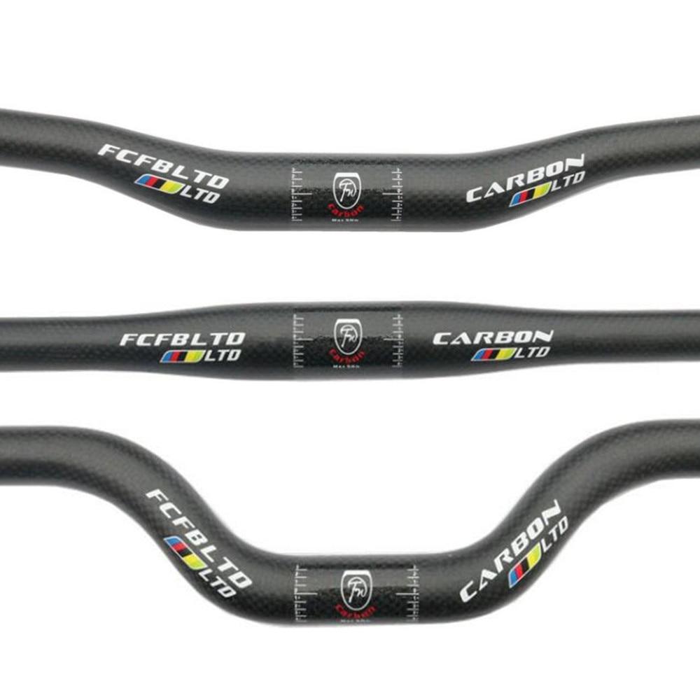 Mountain Bike Riser Handlebar Bicycle Mid-Rise Handle Bar Hi-Rise Bar 520mm