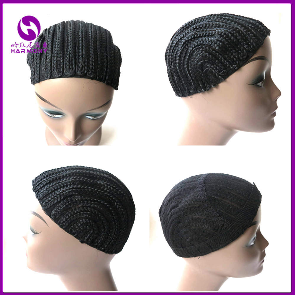 1pc/lot Cornrow Wig Cap For Easier Sew In,Braided Wig Caps Crotchet,Caps for Making Wig,Glueless Hair Net Liner Crochet Wig Caps