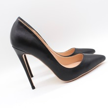 Free shipping fashion women Pumps lady Black matt leather Pointy toe high heels shoes size33-43 12cm 10cm 8cm Stiletto heeled fashion sweet women 10cm high heels pumps female sexy pointed toe black red stiletto high heels lady pink green shoes ds a0295