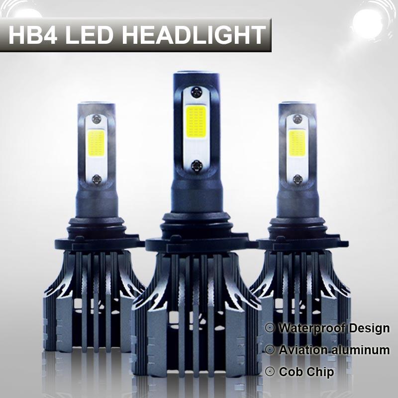 Automobiles & Motorcycles Car Lights Systematic Pampsee 9006 Hb4 Led Car Headlight Bulbs Cob 72w 8000lm 6500k Auto Headlamp Led Light Bulb 12v For Toyota Vw Honda Mazda Hyundai