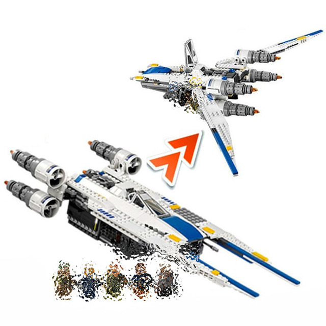 US $39 5 |Lepin 05054 NEW Star Plan 679Pcs The U Model Wing Fighter Set  Building Blocks education toys for Kids gifts Compatible With Lego-in  Blocks