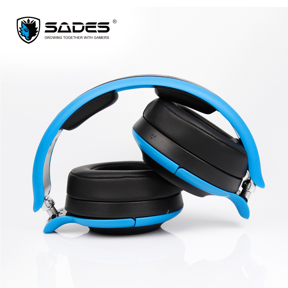SADES D806 Bluetooth 4.1 Wireless Headphones Stereo Foldable Headset Headphone Earphone For iOS Android Windows ir infrared wireless headphone stereo foldable car headset earphone indoor outdoor music headphones tv headphone 2 headphones