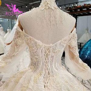 Image 5 - AIJINGYU のウェディングドレスと高級ドレス格安近く私レースインド美しいウェディングプリンセスドレス