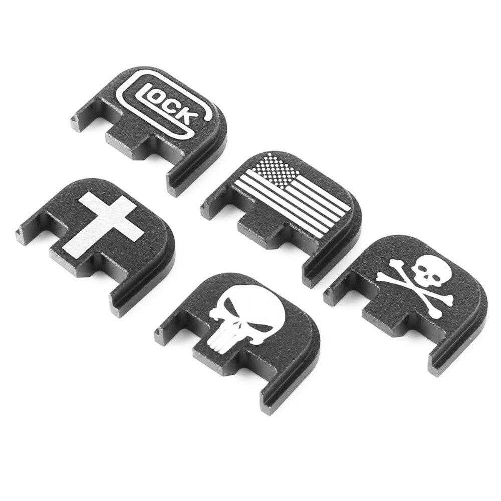 Glock Rear Slide Plate Cover For Gen5 Glock 17 19 20 21 22 23 24 25 26 40 41Accessories
