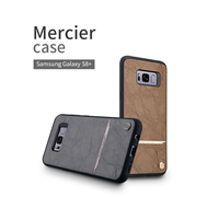 Nillkin Classic PU Leather PC Hard Back Cover Phone Bag For Samsung Galaxy S8 Plus 6