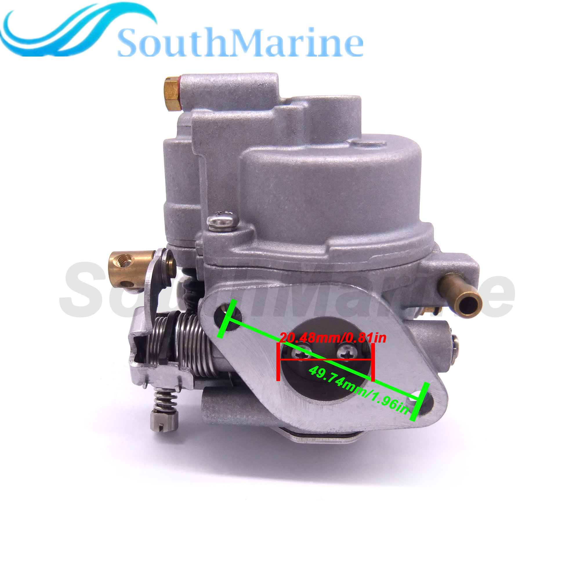 6AU-14301-40 6AU-14301-41 Outboard Engine Carburetor Assy For Yamaha F9.9F T9.9G Boat Motor, Electric Start