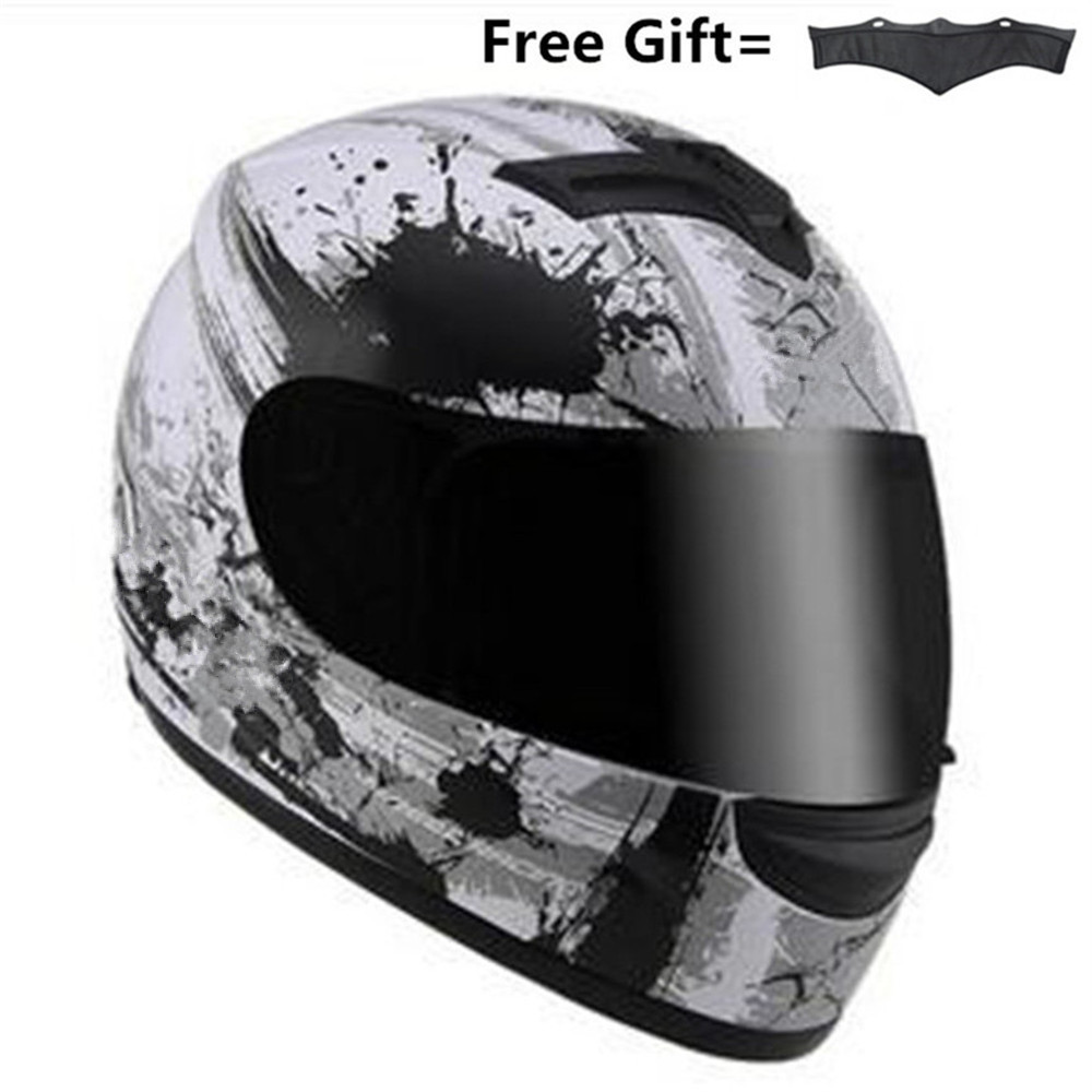 Motorcycle Helmet Full Face Carbon Racing Helmet Casco Moto Casque Moto Off Road DOT approved Cascos
