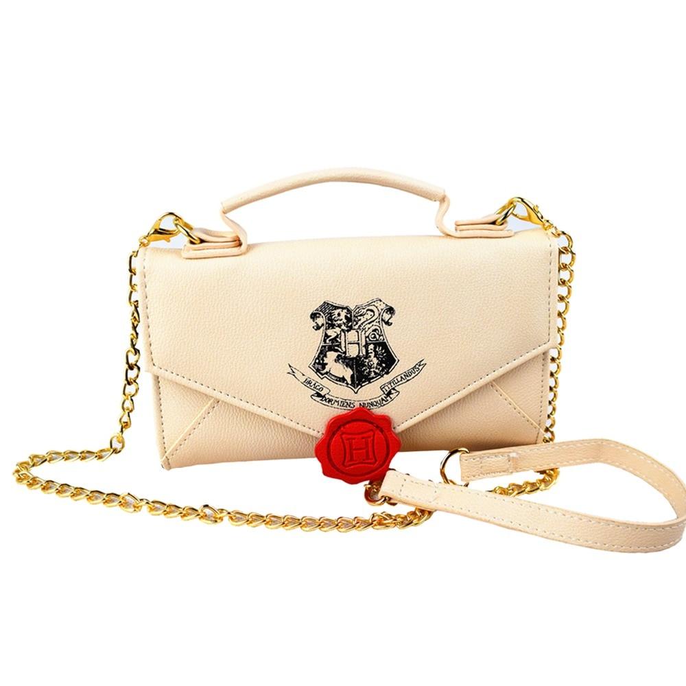 2018 Harry Potter Weibliche Marke Handtasche Frau Messenger Bags Dame Mode Leder Umhängetasche Mädchen Crossbody Taschen