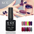 KCE Women and Girl Nail Gel nail Polish UV&LED Shining Colorful 100 Colors 8g Long Lasting Soak Off Varnish Cheap Manicure