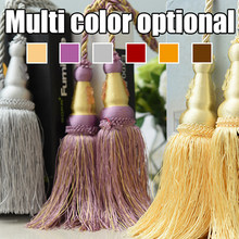 Multi Color Optional 200cm Decorative Curtain tassels High Quality Tieback for Curtains(China)