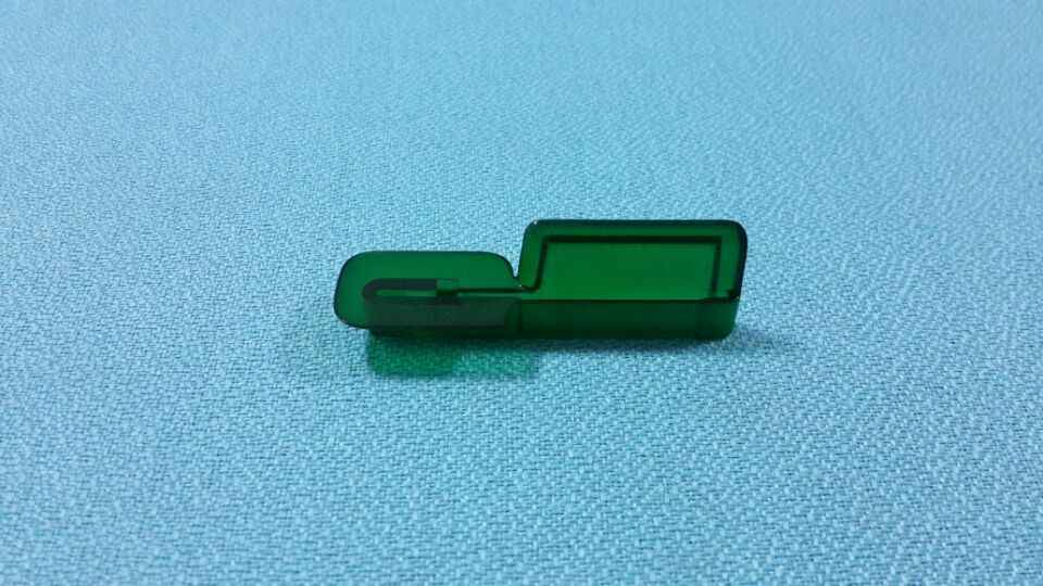 Hot Sale NCR Insert Skimmer ATM Bezel Transparent Green ATM Parts ATM  Models with Superior Quality