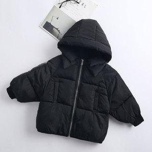 Image 3 - 2 6Yrs子供のカジュアルアウターコート女の子コールド冬暖かいフード付きコート子供綿が詰め服子供たちジャケット