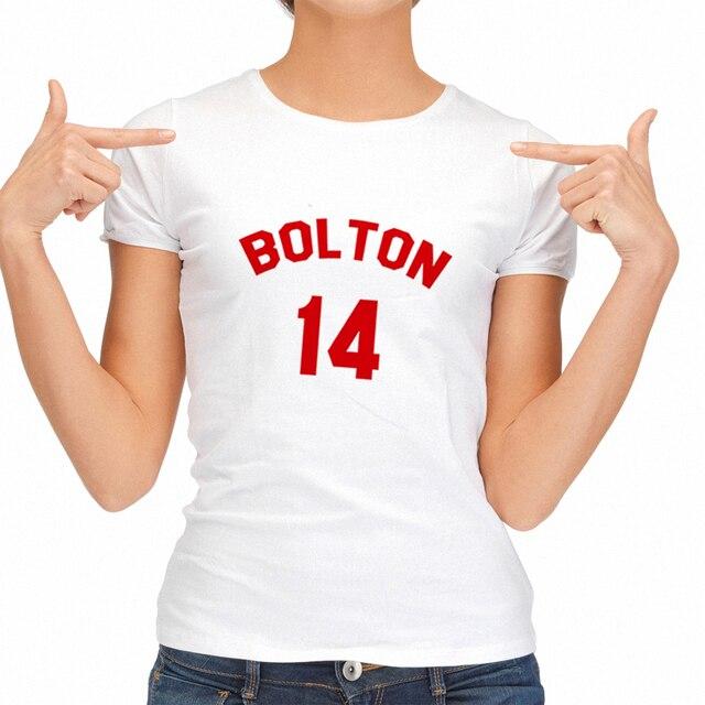 6f176b018a4d Fashion Summer Punk Womens Tshirt High School Musical_ Bolton Red Designer  T-shirts Hipster Tee Shirts Print Tops