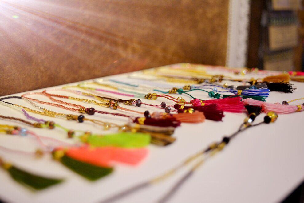 KELITCH 10 Pcs Multicolor rumbai Benih Beaded Gelang Handmade - Perhiasan fashion - Foto 2