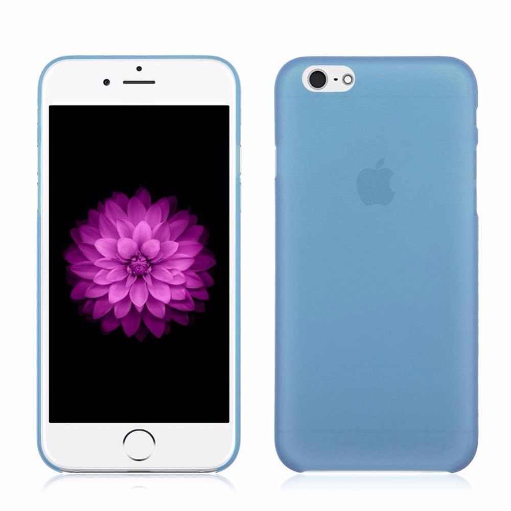 Glshst конфеты матовый Цвета чехла для Iphone 4 4s 5 5S 5SE 5C 6 6 S 7 6 Plus 7 7 плюс Чехол мобильного телефона защиты мешок