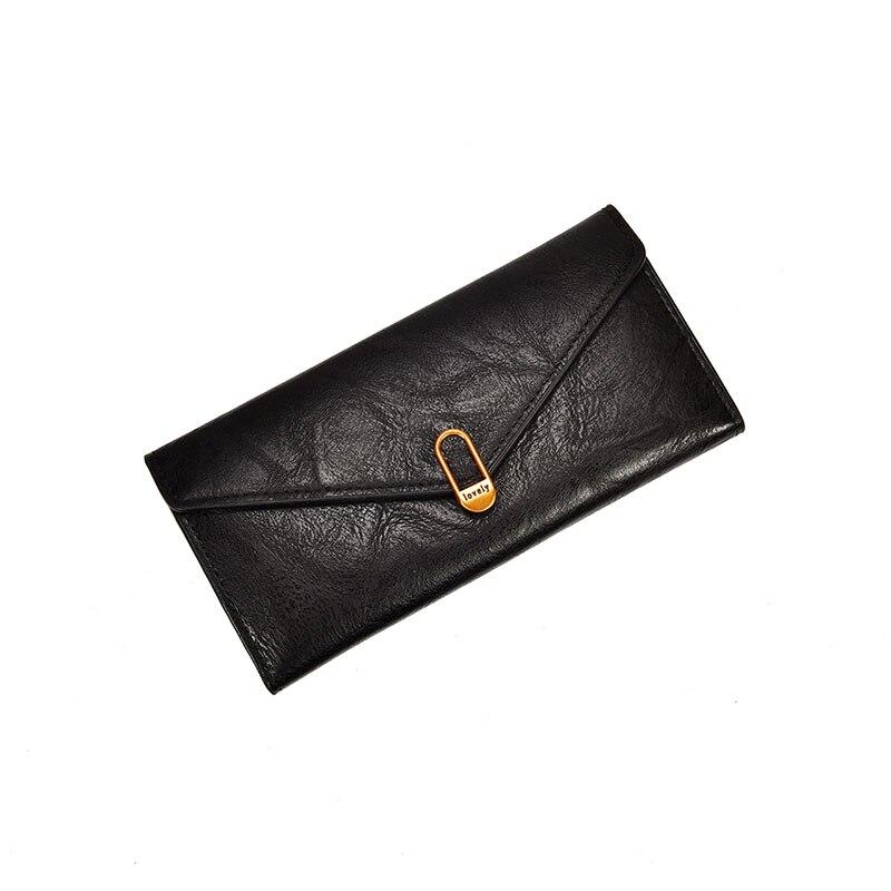 HH Casual Women Läder Plånbok Mynt Ficka Card Holder Lady Väskor - Plånböcker - Foto 1