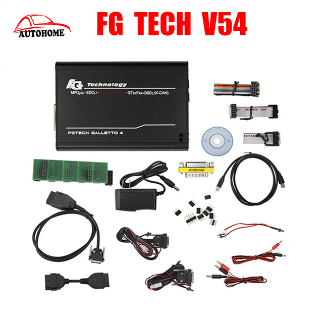 Best Price FGTech V54 Galletto 4 Master main unit Support BDM Full Function Fg Tech V54 Auto ECU Chip Tuning BDM-TriCore-OBD with Free ship