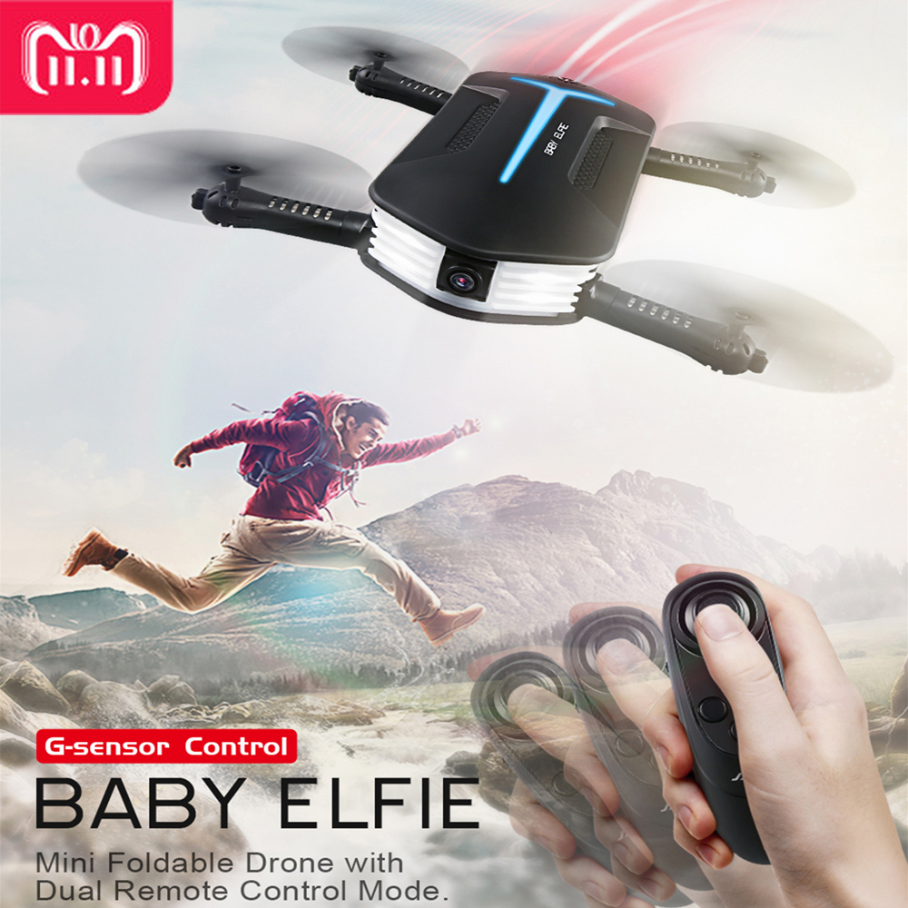 JJR/C JJRC H37 Mini Baby Elfie Selfie 720 p WIFI FPV W/Höhe Halten Headless Modus RC drone Quadcopter Hubschrauber VS E52