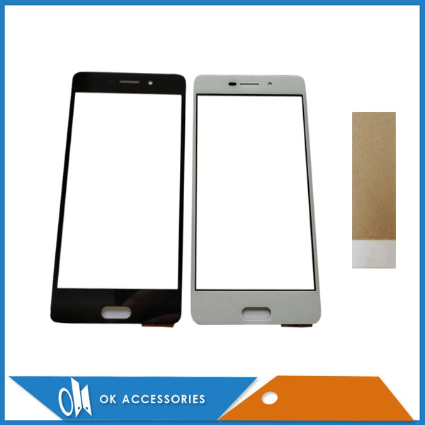 White Black Color For Micromax Q4310 Canvas 2 Touch Screen Digitizer Panel Replacement Front Glass Touchscreen With Tape