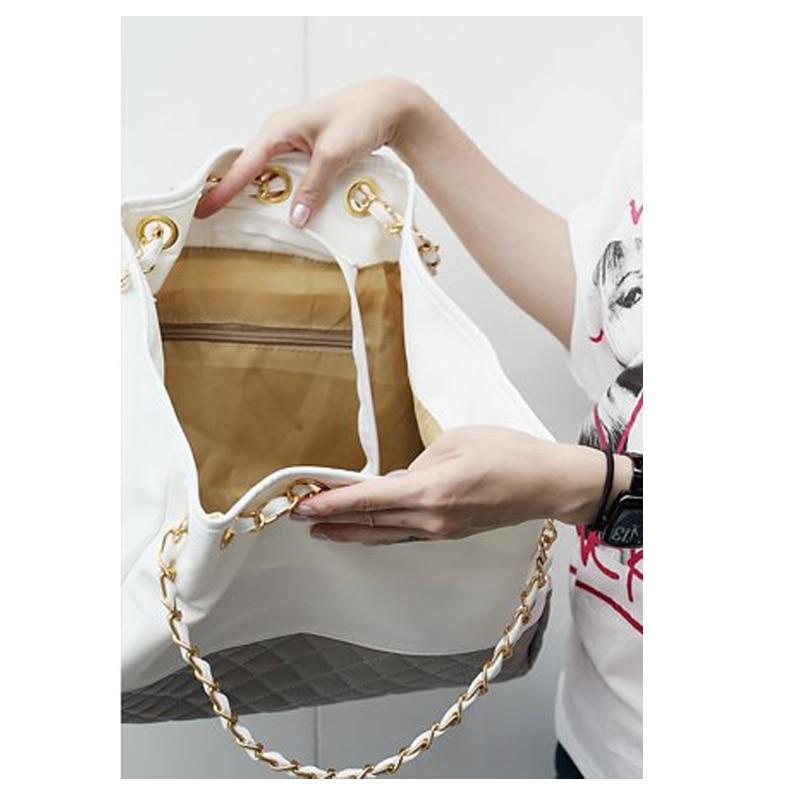 couro sacolas para bolsa nova Tipo de Estampa : Geométrica