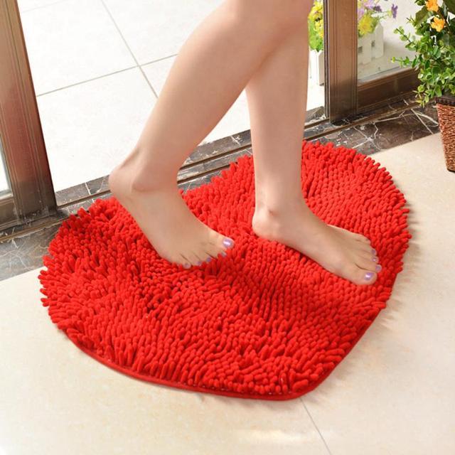 Willkommen Fußmatten Liebe Herz Tür Küche Matte Pad Bad Teppich Dekoration  Hochzeitsgeschenk Rutschfeste Fußmatten Teppiche Rot