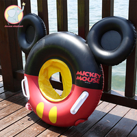 New Inflatable cute Mickey Cartoon Baby swimming ring Float pool children's seat circle children equipment summer water toys