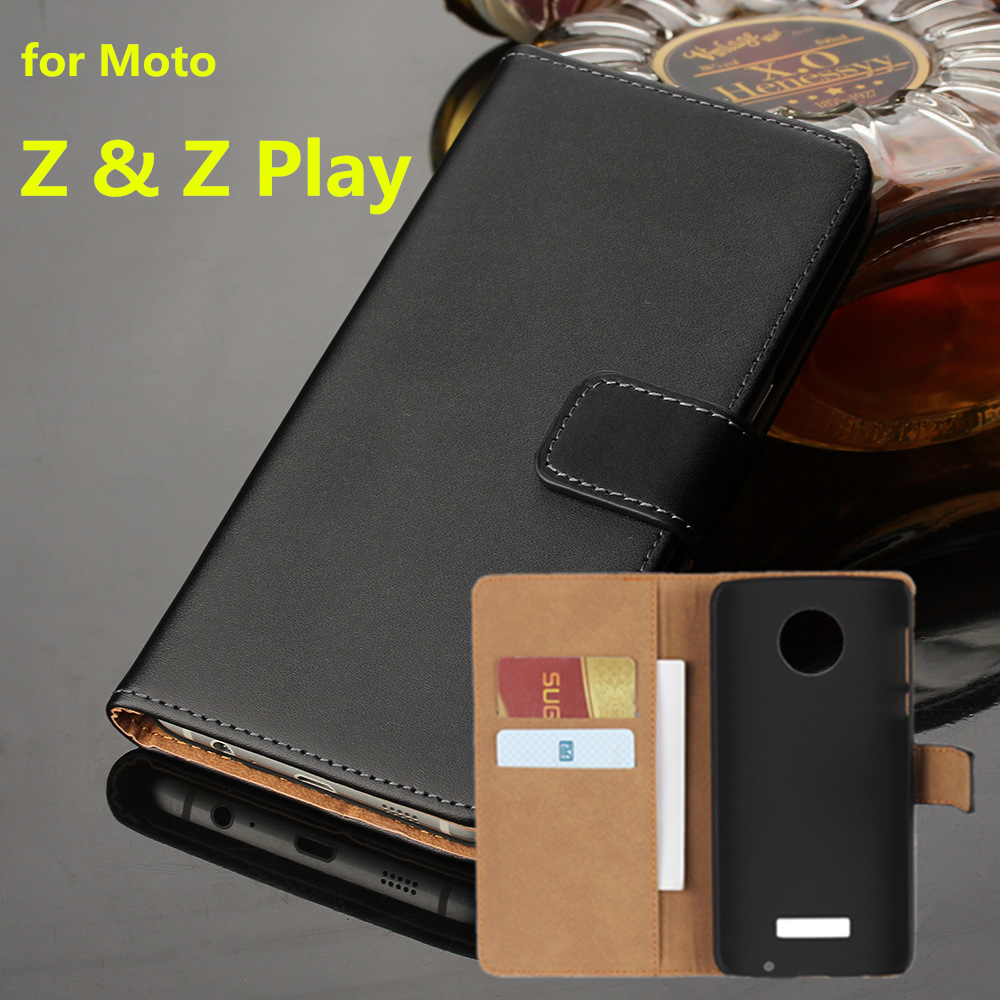 Premium Leather Flip Cover Wallet Phone case For Motorola Moto Z Play for Moto Z card holder holster phone shell GGPremium Leather Flip Cover Wallet Phone case For Motorola Moto Z Play for Moto Z card holder holster phone shell GG