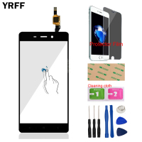 5 0 Mobile Phone Front Glass For Xiaomi Redmi 4 Redmi4 Touch Screen Digitizer Panel Glass