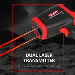 Image 3 - UNI T UTi80 тепловизионная камера цифровой термометр Imager инфракрасная камера 4800 пикселей цветной экран с высоким разрешением