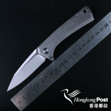Knife D2 blade model 0808 Outdoor folding knife EDC ball bearing pocket flipper camping knife